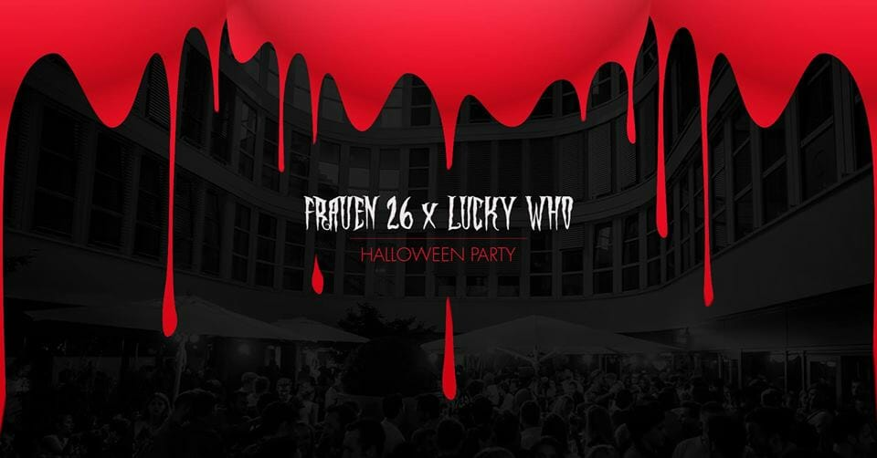 Frauen Halloween Party Lucky Who
