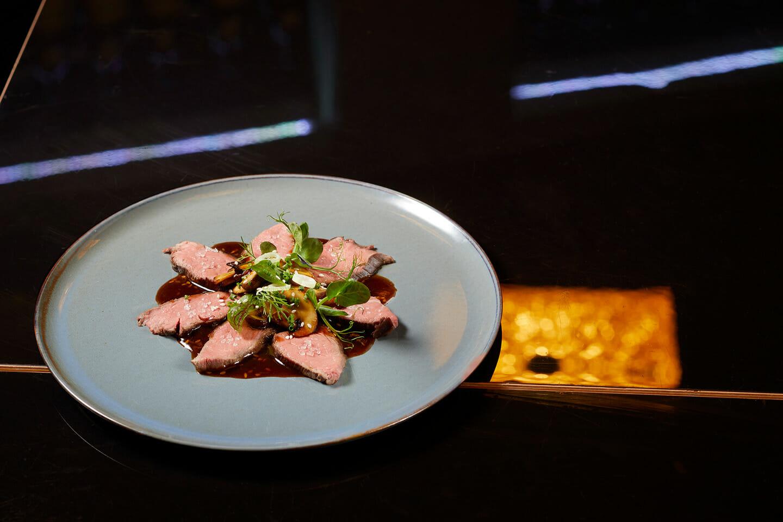 Lucky Who Restaurant München Rinder Tagliata