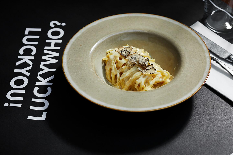 Lucky Who Restaurant München Trüffel Tagliolini