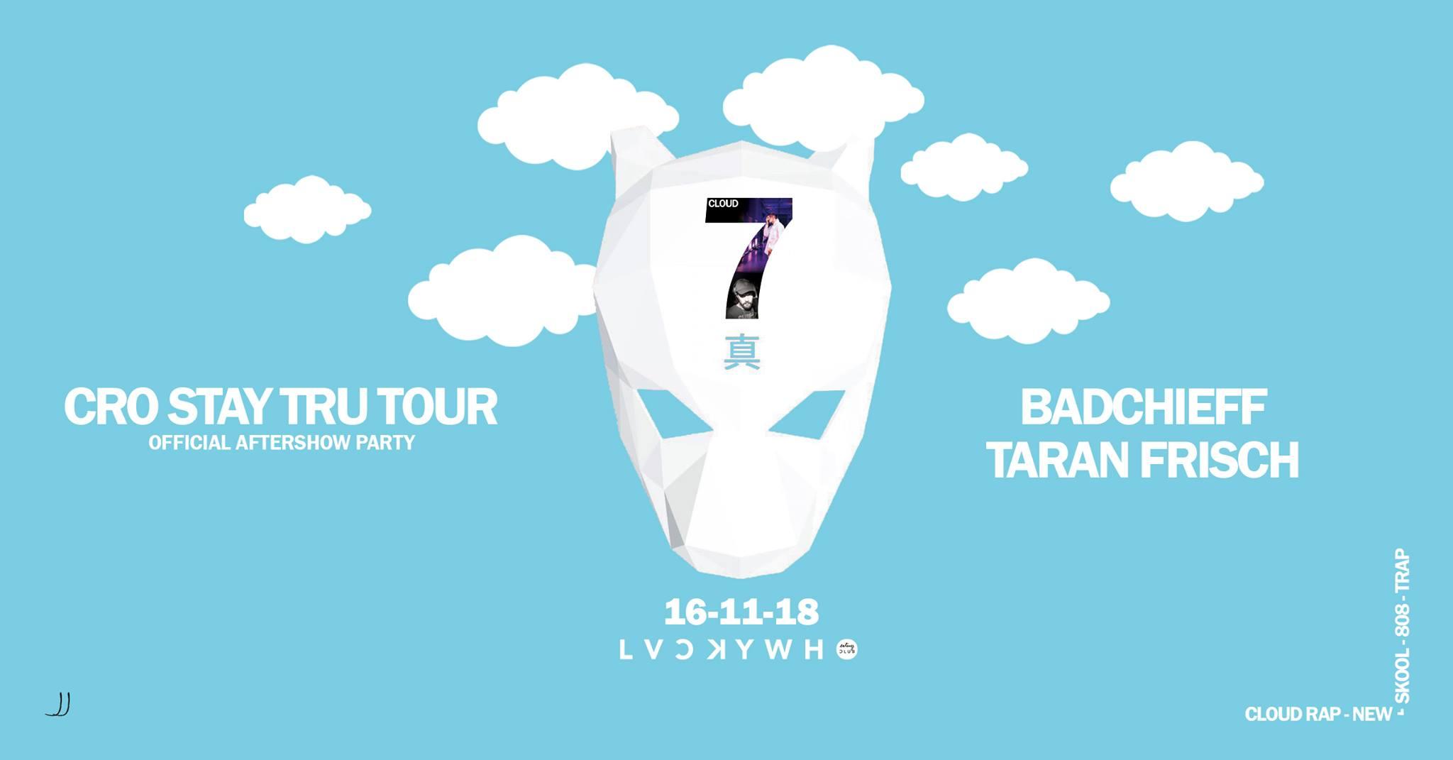 luckycro stay tru tour